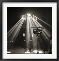 Framed Waiting Room of the Union Station, Chicago