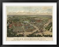 Framed St Louis Worlds Fair