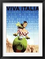 Framed Viva Italia