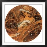 Winter Medallion Framed Print