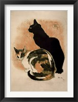 Framed Two Cats