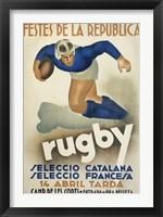 Framed Rugby