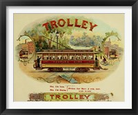 Framed Trolley Cigars