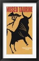 Framed Museo Bull