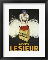 Framed Savon Lesieur