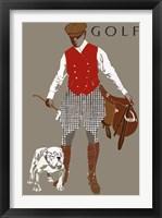 Framed Bulldog Golf