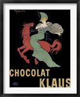 Framed Chocolate Klaus