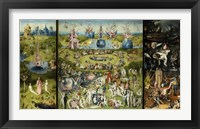 Framed Bosch - Garden Of Earthly Delights