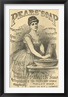 Framed Pears Soap Washbowl