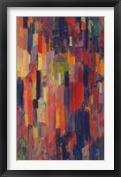 Framed Mme Kupka among Verticals