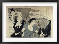 Framed Les Fetes Parisiennes