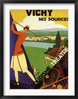 Framed Vichy Ses Sources