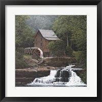 Framed Glade Creek Mill