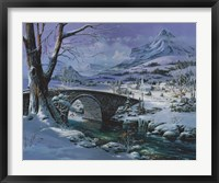 Framed Snowy River