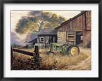 Framed Deere Country