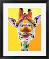 Framed Giraffe No. 3