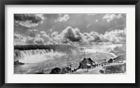 Framed Niagara Falls1913