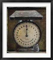 Framed Nostalgica: Vintage Scale