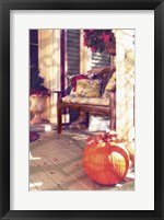 New England Autumn IV Framed Print