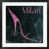 Milan Shoes Framed Print