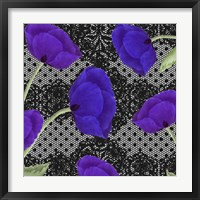 Living Lace I Framed Print