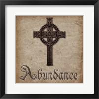 Spiritual Pack Abundance Framed Print
