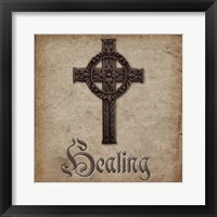Spiritual Pack Healing Framed Print
