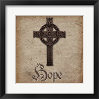 Spiritual Pack Hope Framed Print