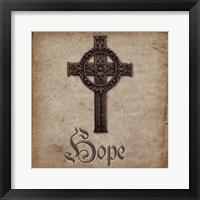 Spiritual Pack Hope Framed Print