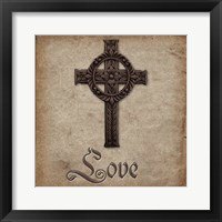 Spiritual Pack Love Framed Print