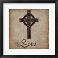 Spiritual Pack Love Framed Print