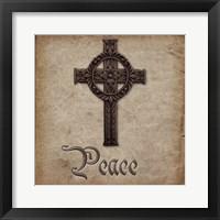 Spiritual Pack Peace Framed Print