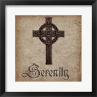 Spiritual Pack Serenity Framed Print