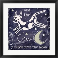 Framed Chalkboard Nursery Rhymes IV