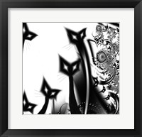 Framed Black Cats