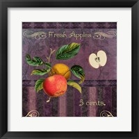 Fresh Apples Framed Print
