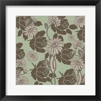 Framed Roses and Linen