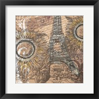 Paris Pastiche I Framed Print