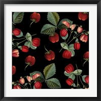 Nature's Bounty -  Strawberries Framed Print