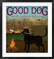 Framed Good Dog Wilderness Guide
