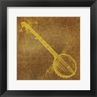 Banjo Framed Print