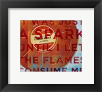 Carrying a Torch Framed Print