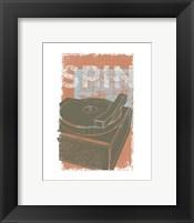 Spin Framed Print