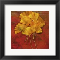 Gingkos #2 Framed Print