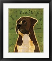 Framed Boxer - Brindle