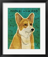 Framed Pembroke Welsh Corgi