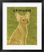Chihuahua (tan) Framed Print