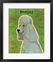 Framed Poodle (grey)