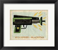 Blackstar Ray Gun Framed Print