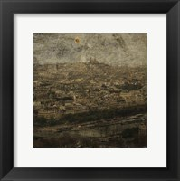 Paris Skyline II Framed Print